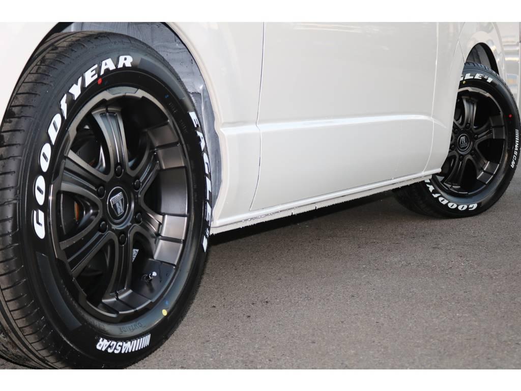 FLEXバルベロ ディープス17インチAW&ナスカータイヤ♪ | トヨタ ハイエースバン 2.8 スーパーGL ダークプライムⅡ ロングボディ ディーゼルターボ