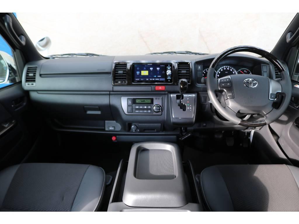 ダークプライムⅡコックピット♪ | トヨタ ハイエースバン 2.8 スーパーGL ダークプライムⅡ ロングボディ ディーゼルターボ