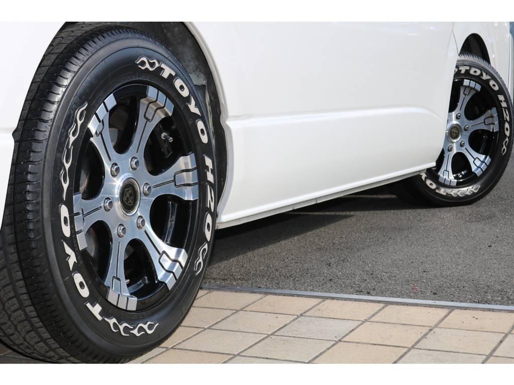 16インチホイール&TOYO H20タイヤ♪   トヨタ ハイエース 2.7 GL ロング ミドルルーフ