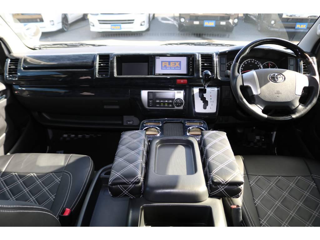 専門業者にてルームクリーニング施工済み♪   トヨタ ハイエース 2.7 GL ロング ミドルルーフ