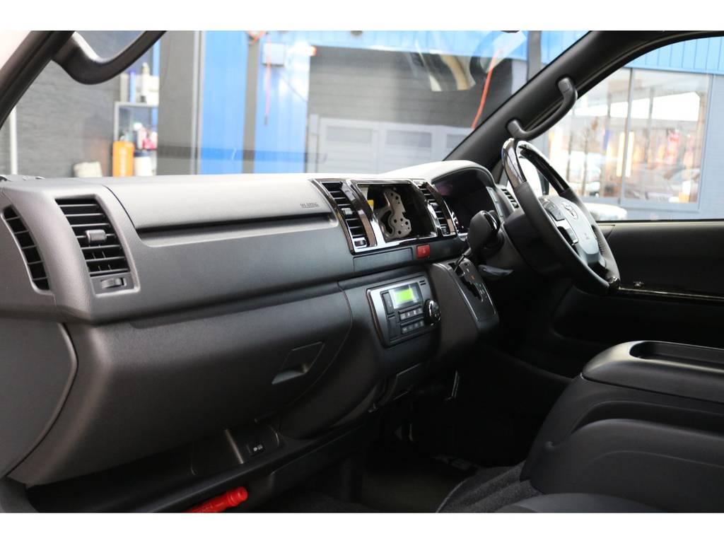 助手席エアバッグ&100Vコンセント装備♪   トヨタ ハイエースバン 2.0 スーパーGL ダークプライムⅡ ロングボディ