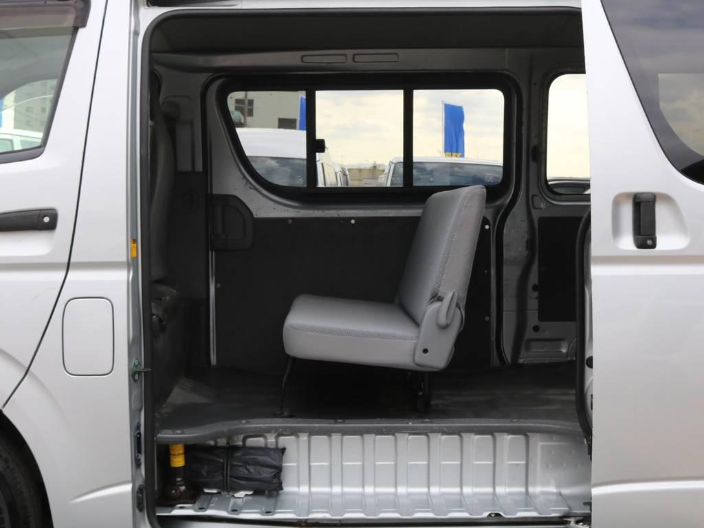 3人掛けセカンドシート♪ | トヨタ ハイエースバン 2.0 DX ロング