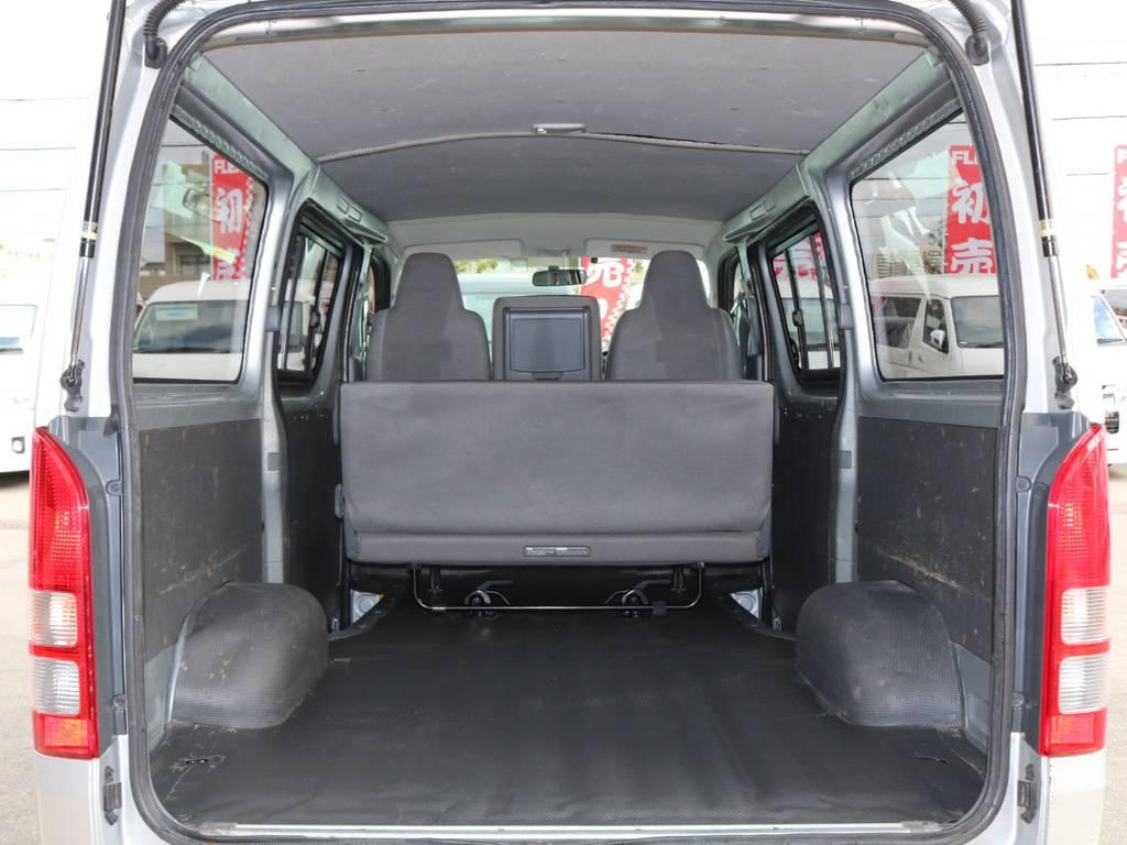 大容量のカーゴスペース♪ | トヨタ ハイエースバン 2.0 DX ロング