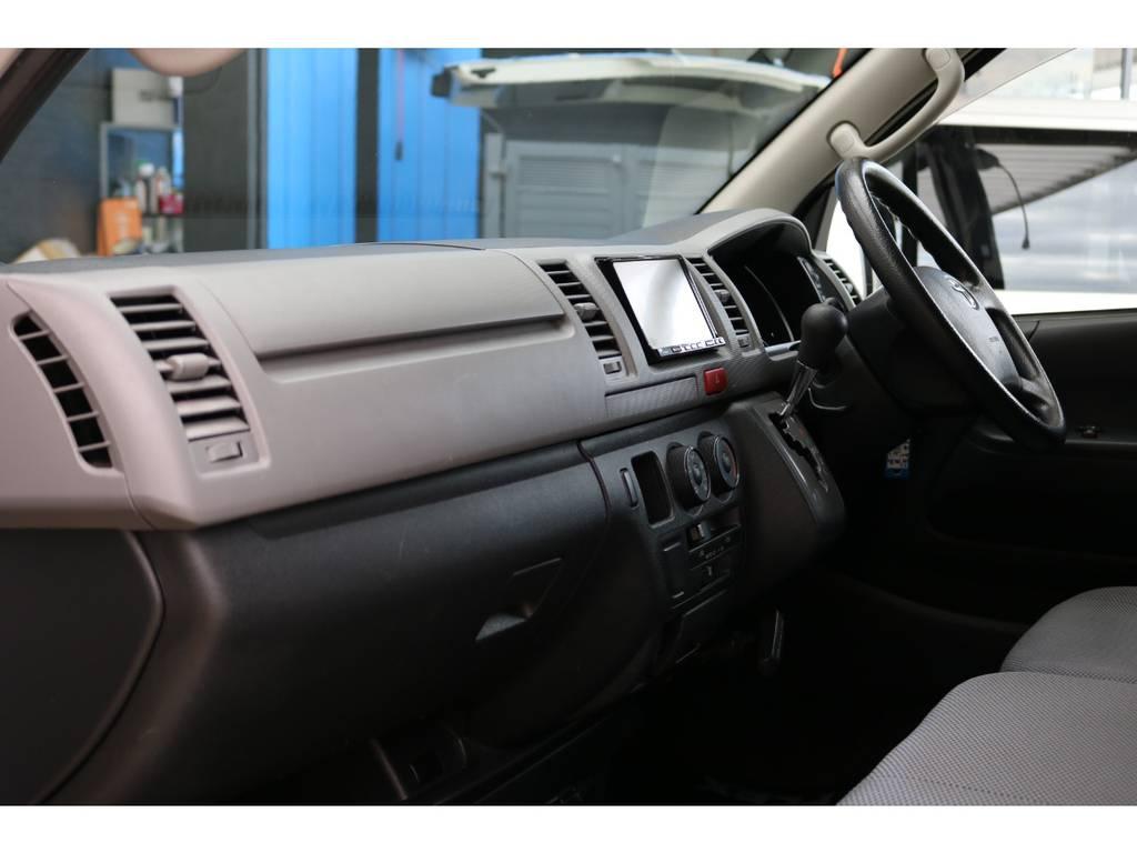 SDナビ・ETC装備済み♪ | トヨタ ハイエースバン 2.0 DX ロング