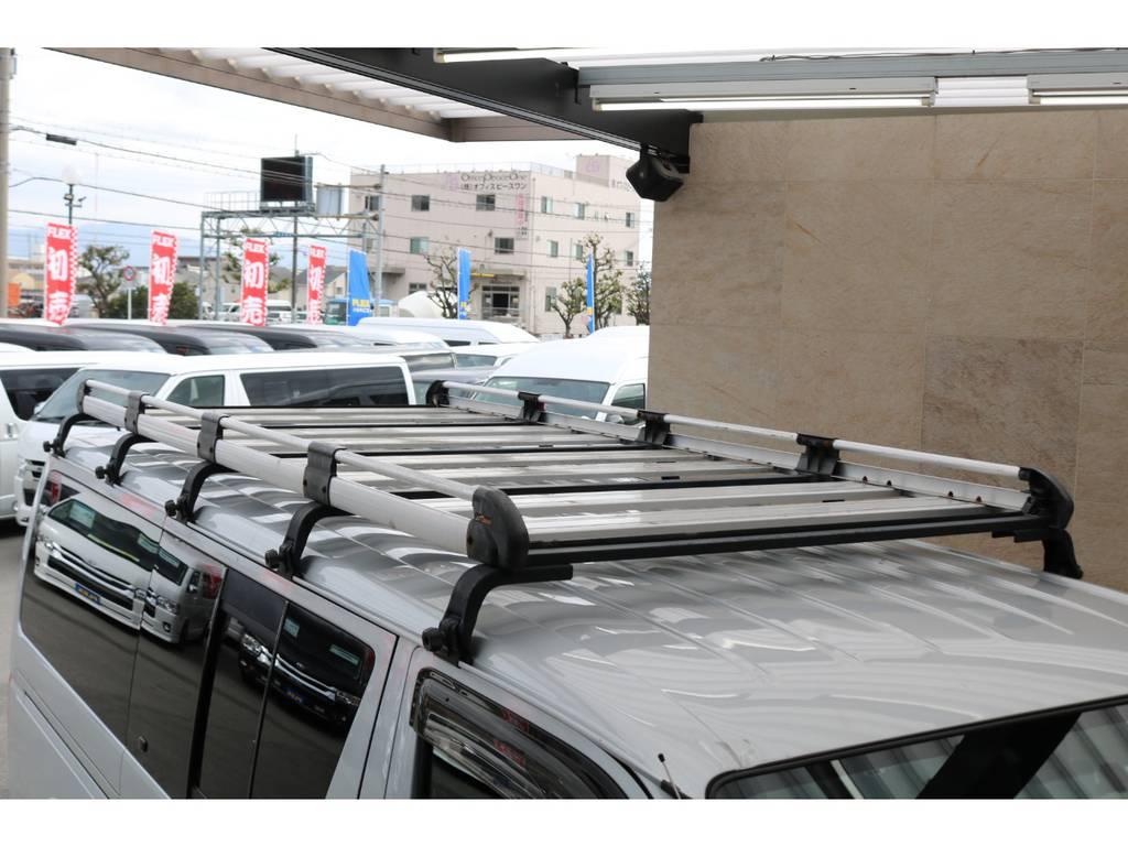 ルーフキャリア装備♪ | トヨタ ハイエースバン 2.0 DX ロング