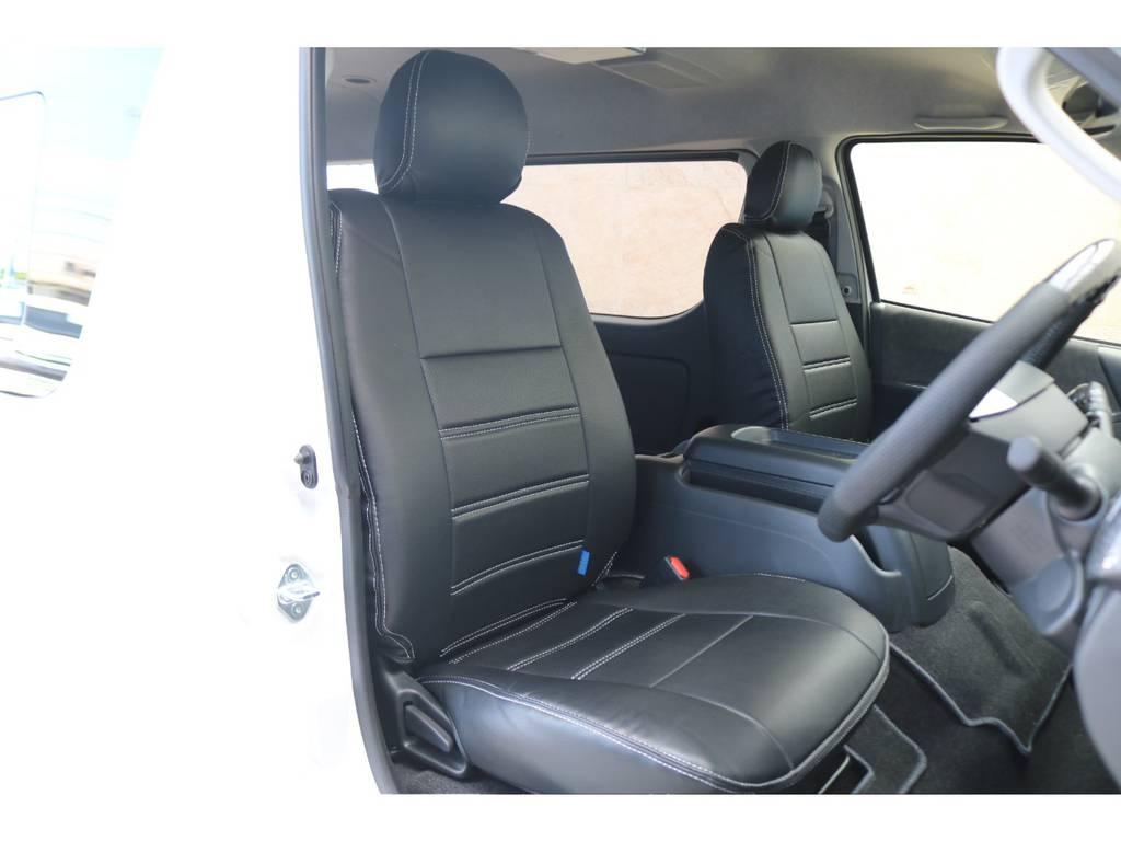 FLEXシートカバー装備♪ | トヨタ ハイエース 2.7 GL ロング ミドルルーフ TSS付アレンジAS