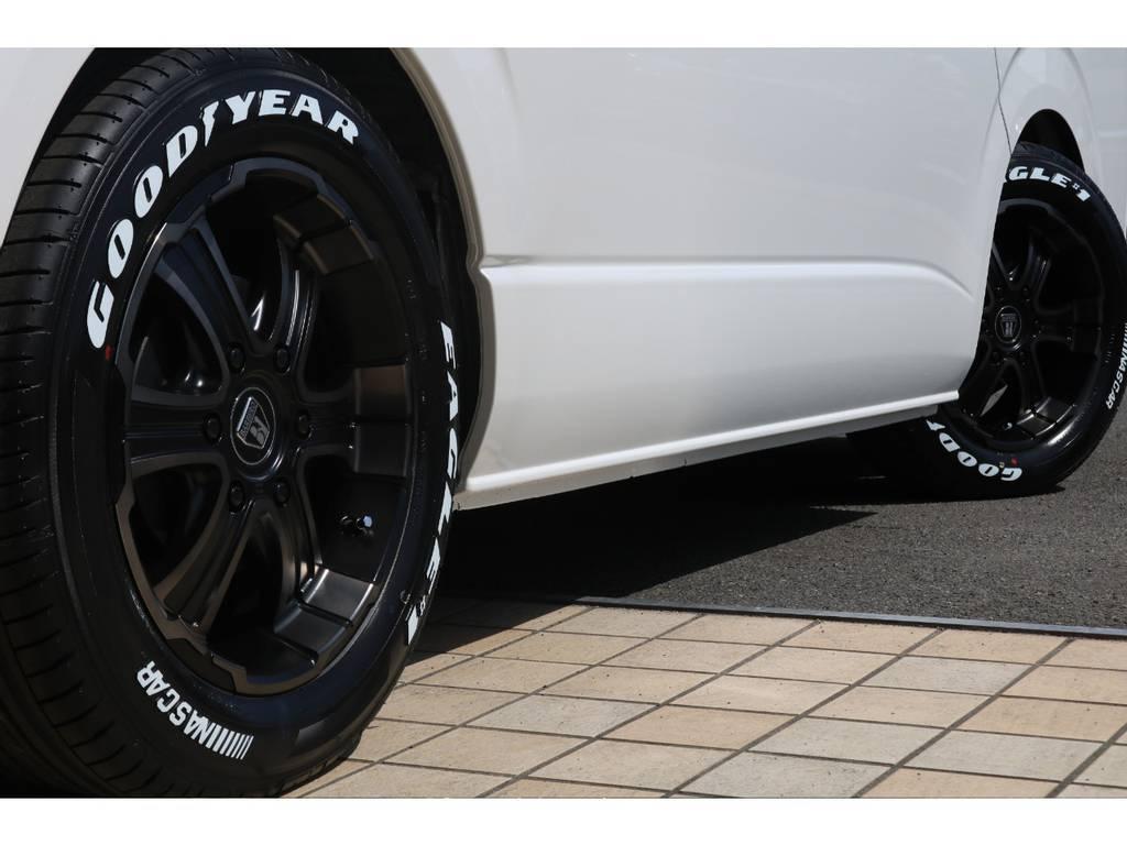 FLEXバルベロディープス17インチAW&ナスカータイヤ♪ | トヨタ ハイエース 2.7 GL ロング ミドルルーフ TSS付アレンジAS