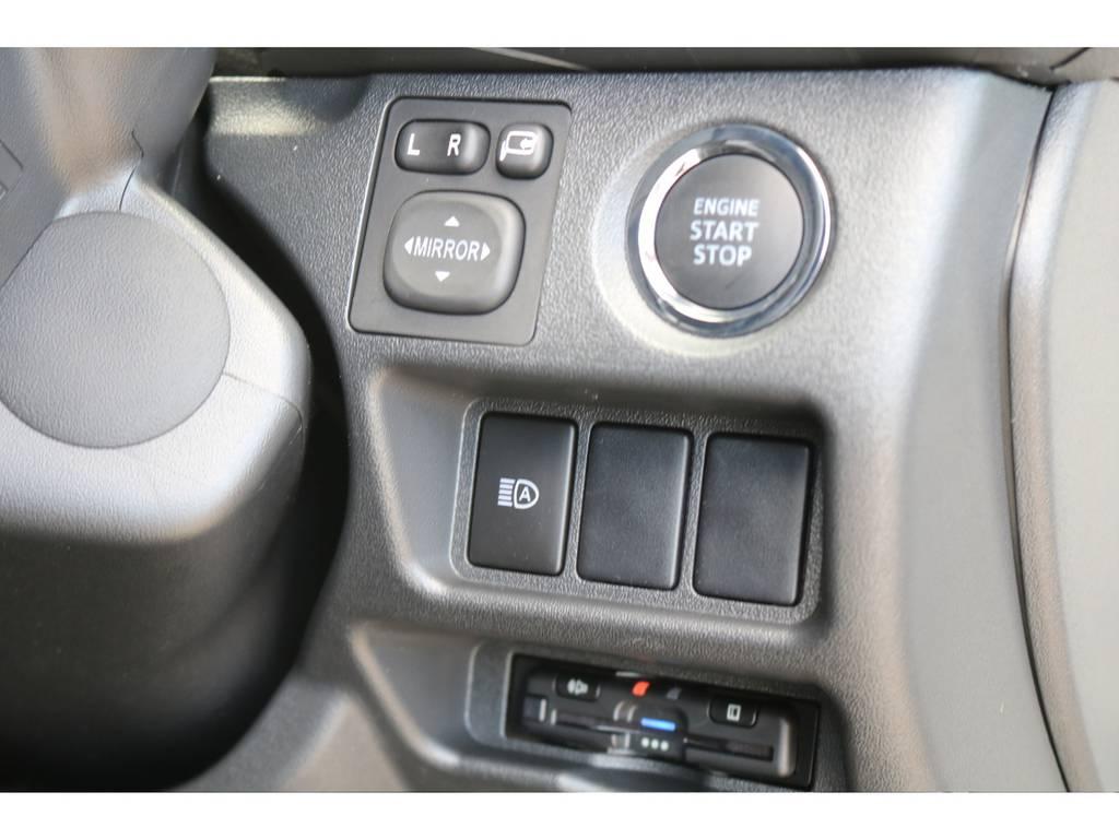 純正プッシュスタート・ビルトインETC♪ | トヨタ ハイエースバン 2.0 スーパーGL ダークプライムⅡ ロングボディ PS無