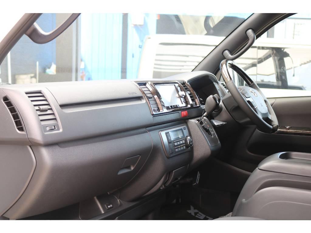 助手席エアバッグ&100Vコンセント♪ | トヨタ ハイエースバン 2.0 スーパーGL ダークプライムⅡ ロングボディ PS無