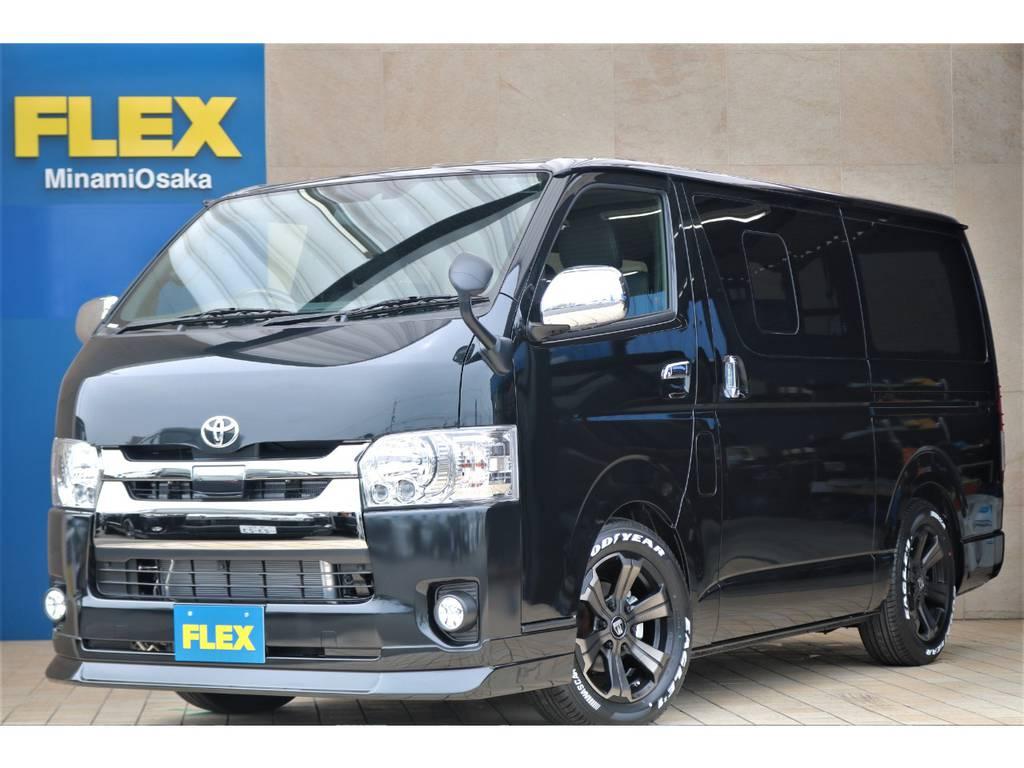 FLEX CUSTOM/新車DARK PRIMEⅡ・ガソリン2WD♪