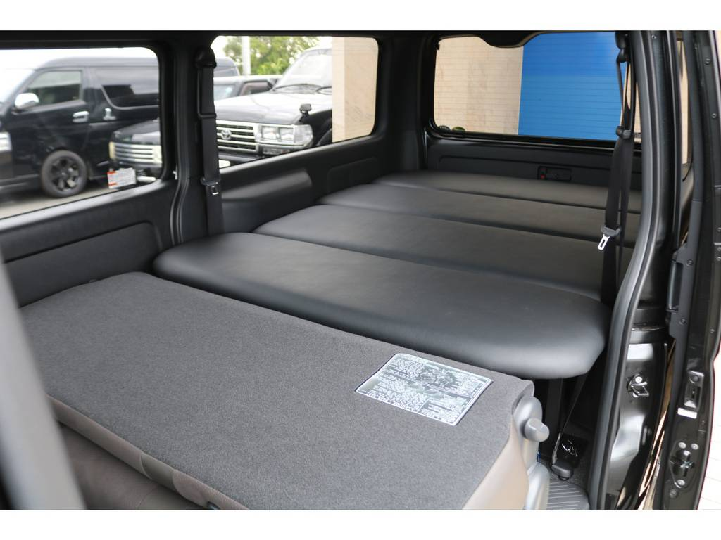 オリジナルベッドキット♪ | トヨタ ハイエースバン 2.0 スーパーGL 50TH アニバーサリー リミテッド ロングボディ FLEX CUSTOM