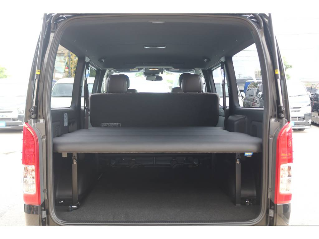 高さ調整ベッドキット♪ | トヨタ ハイエースバン 2.0 スーパーGL 50TH アニバーサリー リミテッド ロングボディ FLEX CUSTOM