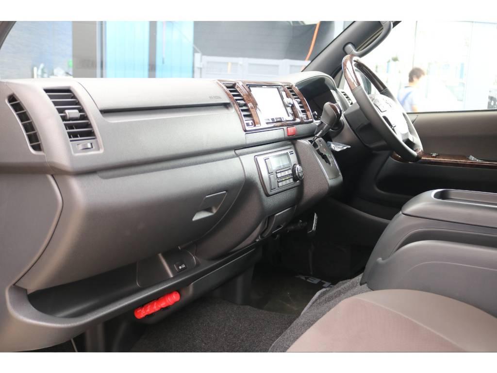 助手席エアバッグ&100Vコンセント♪ | トヨタ ハイエースバン 2.0 スーパーGL 50TH アニバーサリー リミテッド ロングボディ FLEX CUSTOM