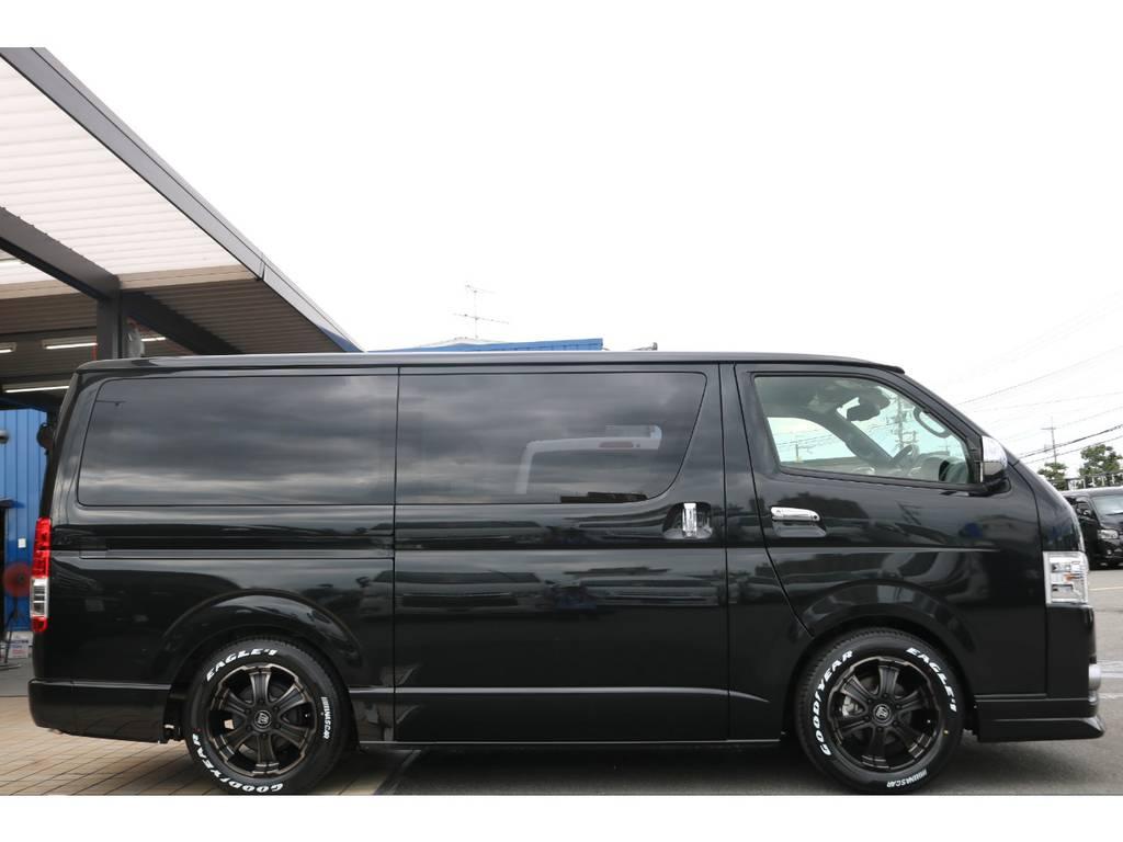 2インチローダウンKIT♪ | トヨタ ハイエースバン 2.0 スーパーGL 50TH アニバーサリー リミテッド ロングボディ FLEX CUSTOM