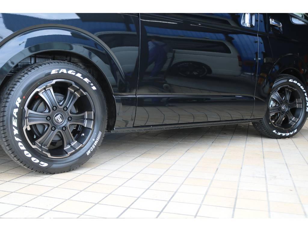 FLEXバルベロ ディープス17インチAW&ナスカータイヤ♪ | トヨタ ハイエースバン 2.0 スーパーGL 50TH アニバーサリー リミテッド ロングボディ FLEX CUSTOM