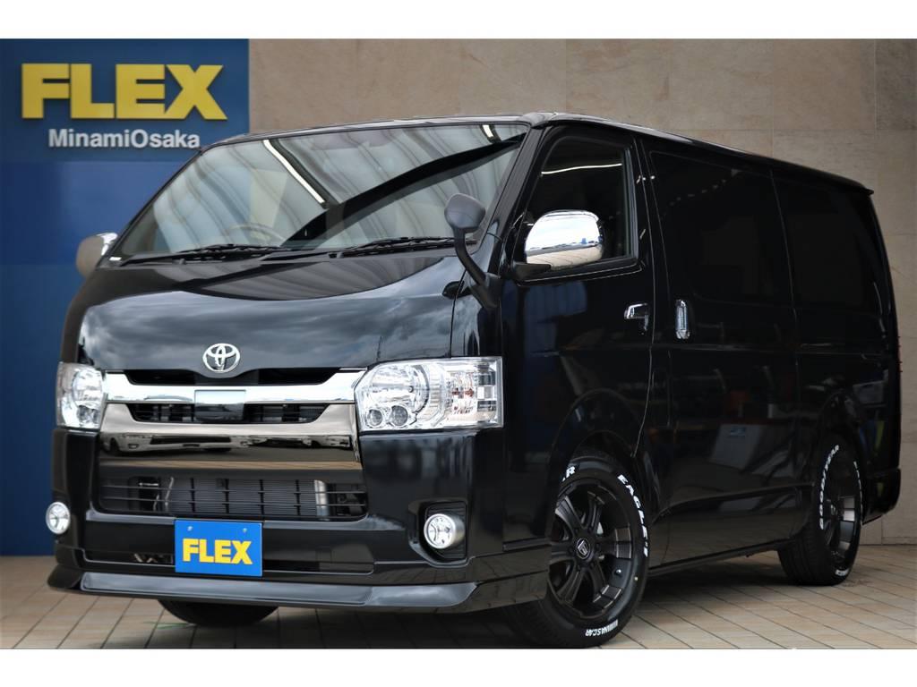 FLEX CUSTOM・新車50TH ガソリン2WD♪ | トヨタ ハイエースバン 2.0 スーパーGL 50TH アニバーサリー リミテッド ロングボディ FLEX CUSTOM