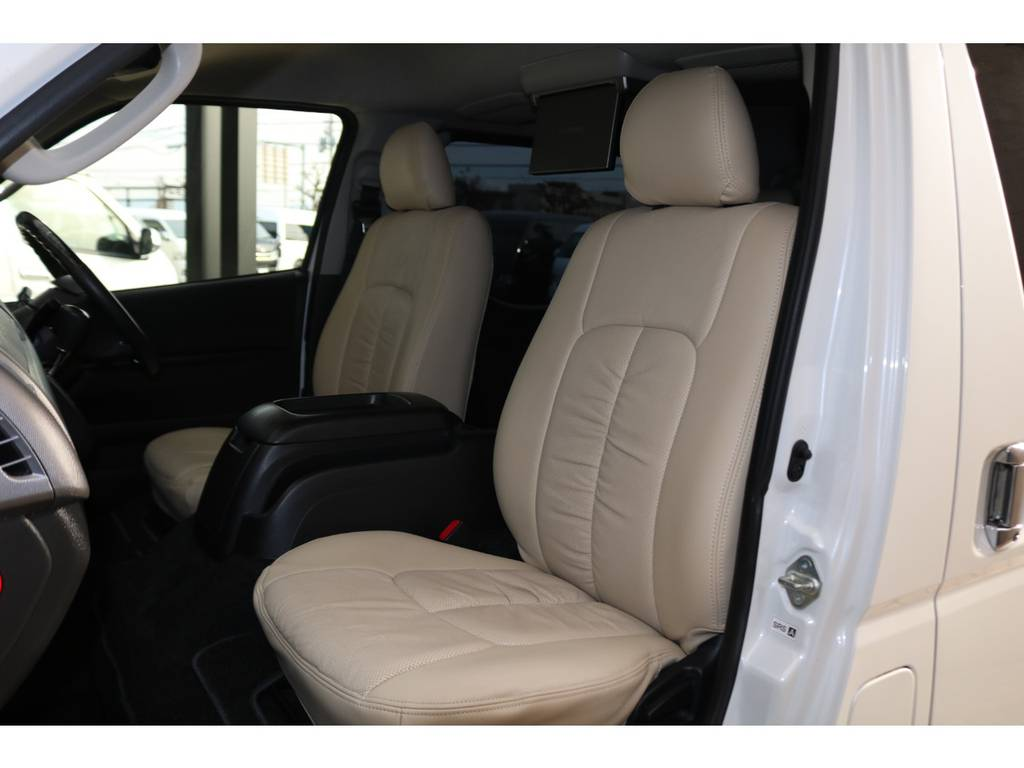 全席シートカバー装備♪ | トヨタ レジアスエース 2.0 スーパーGL プライムセレクション ロングボディ