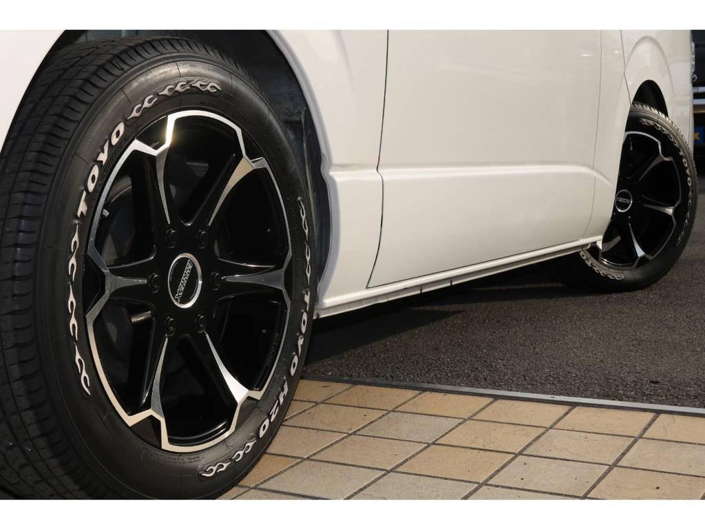 essex17インチAW&TOYOタイヤ♪ | トヨタ レジアスエース 2.0 スーパーGL プライムセレクション ロングボディ