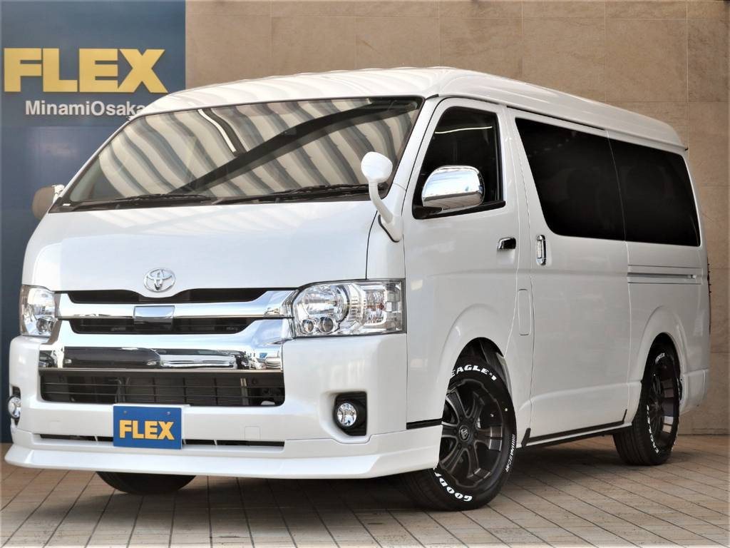 FLEX CUSTOM・新車ワゴンGL4WD入庫♪