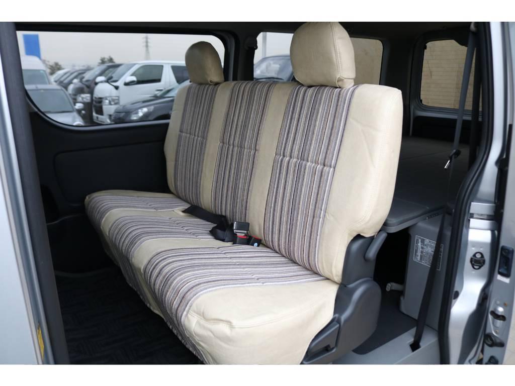 全席Renocaシートカバーを新品でインストール♪ | トヨタ ハイエースバン 3.0 マルチロールトランスポーター タイプⅡ ロング ディーゼルターボ 4WD