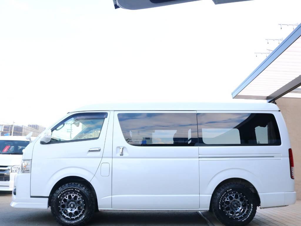 純正オプションの両側パワースライドドア装備♪ | トヨタ レジアスエース 2.7 スーパーGL ダークプライム ワイド ミドルルーフ ロングボディ 4WD