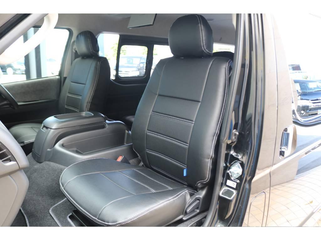 FLEXシートカバー装備♪ | トヨタ ハイエース 2.7 GL ロング ミドルルーフ TSS付