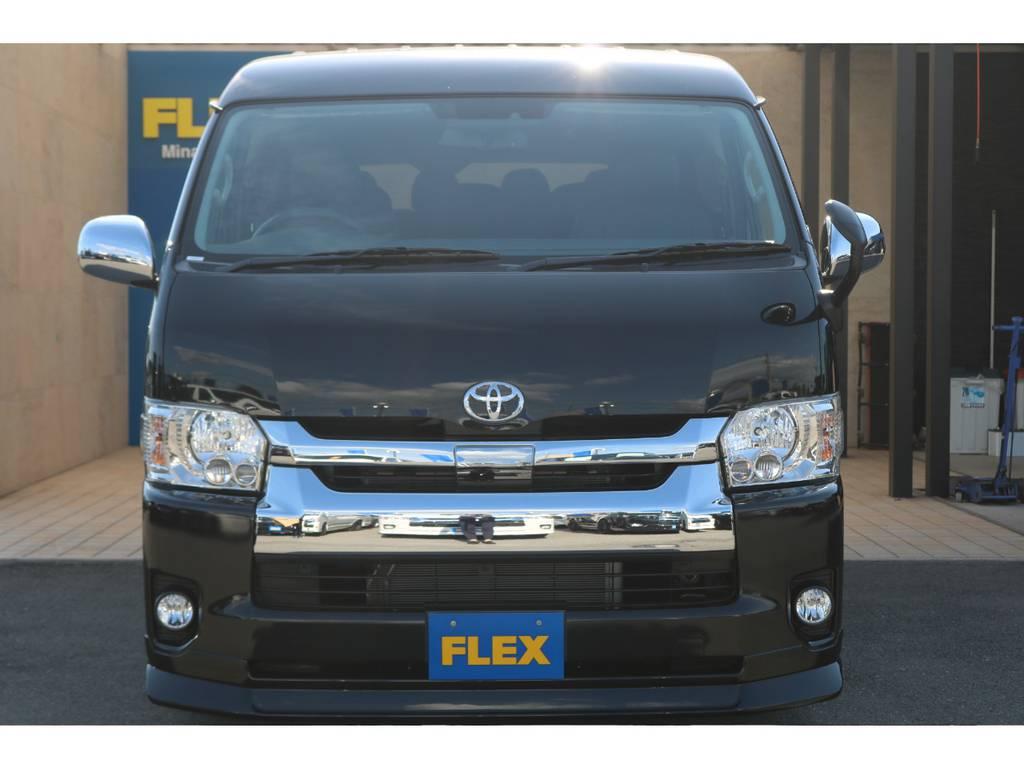 純正LEDヘッドライト&トヨタセーフティセンス付き♪ | トヨタ ハイエース 2.7 GL ロング ミドルルーフ TSS付