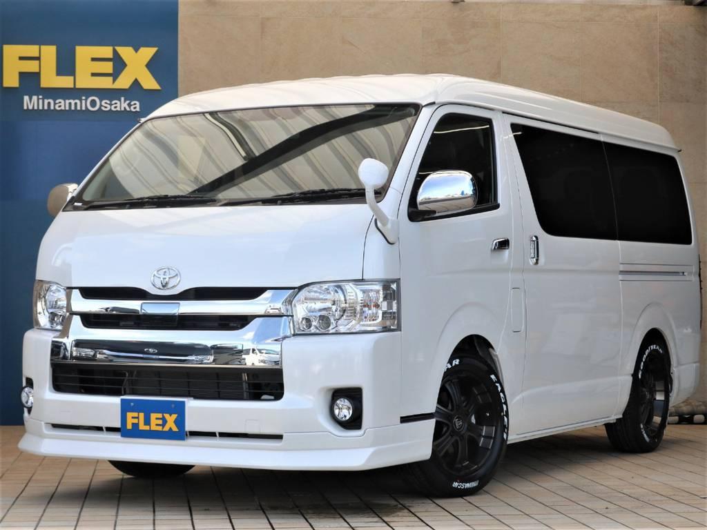 新車ワゴンGL2WD・FLEXオリジナルシートR1♪