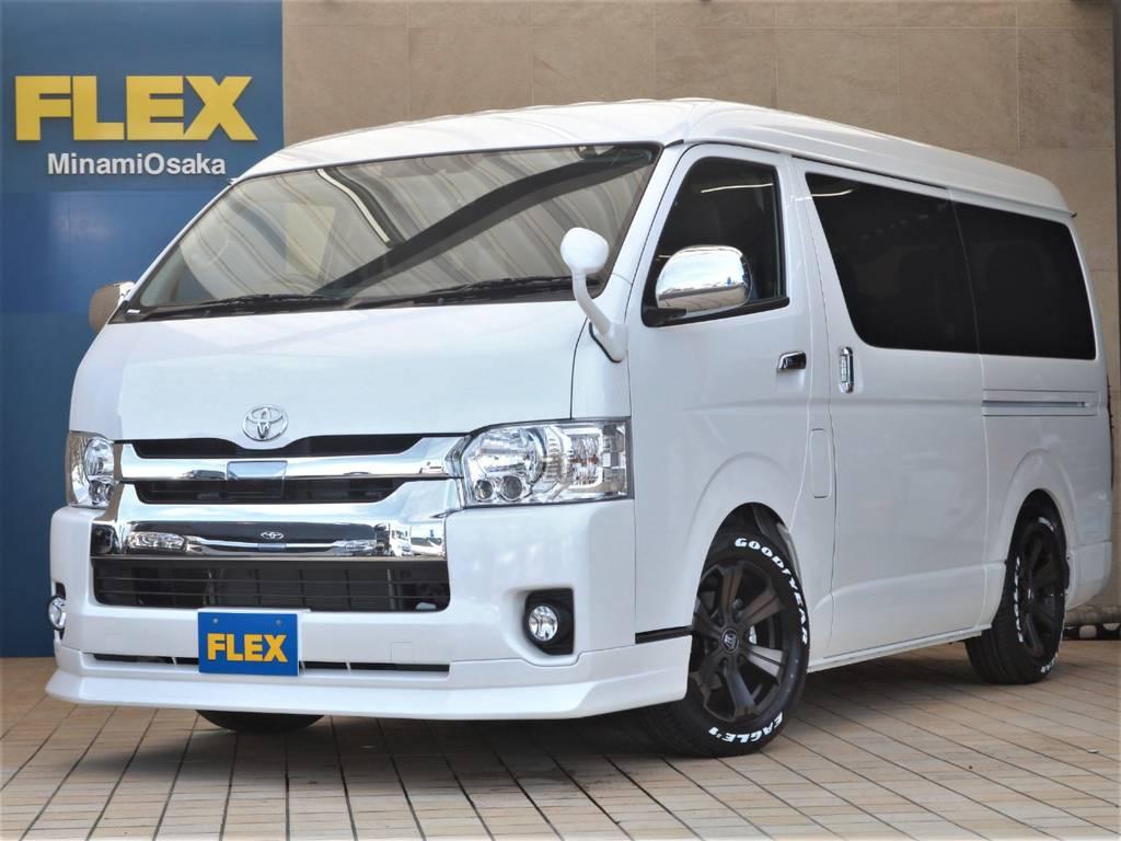 FLEX CUSTOM・新車ワゴンGL2WD TSS付き♪