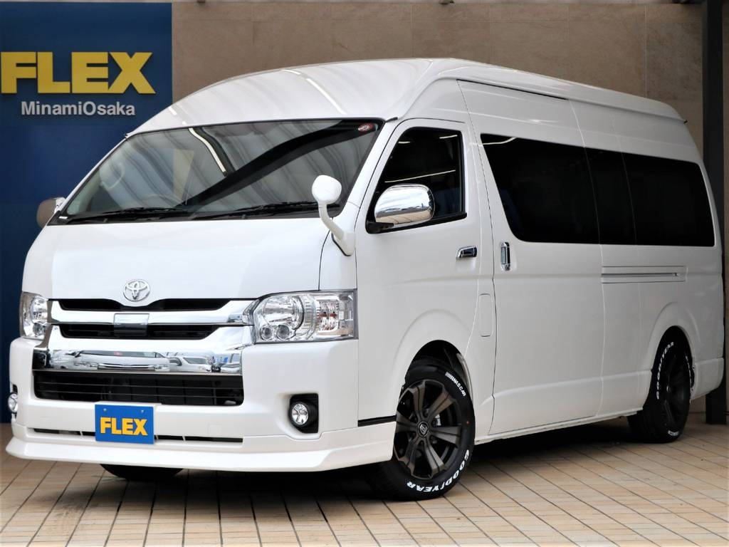 FLEX CUSTOM・新車グランドキャビン2WD入庫♪
