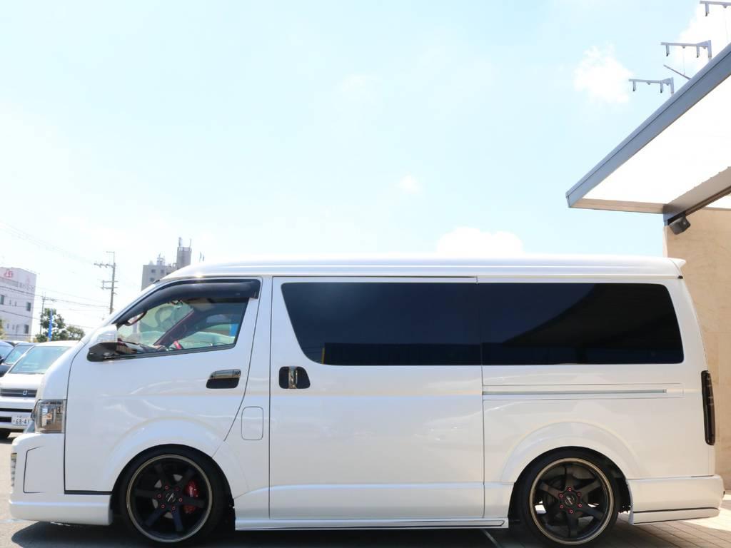 両側パワースライドドア♪ | トヨタ ハイエースバン 2.7 スーパーGL ワイド ロング ミドルルーフ 4WD GIBSONフルエアロ