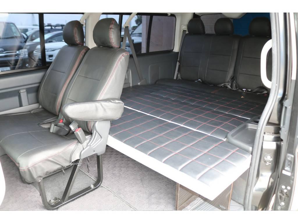 車中泊も可能なベッドキット♪