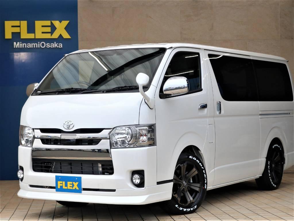 FLEX CUSTOM・新車DARK PRIMEⅡ クリーンディーゼル2WD