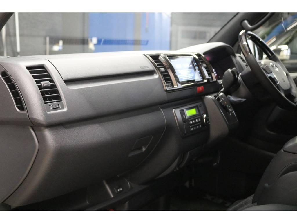 助手席エアバッグ&100Vコンセント装備