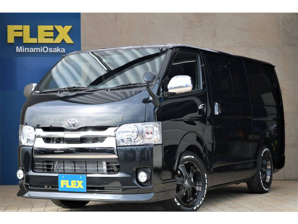 FLEX CUSTOM・新車ダークプライムⅡガソリン2WD・リクライニングベッドキット♪