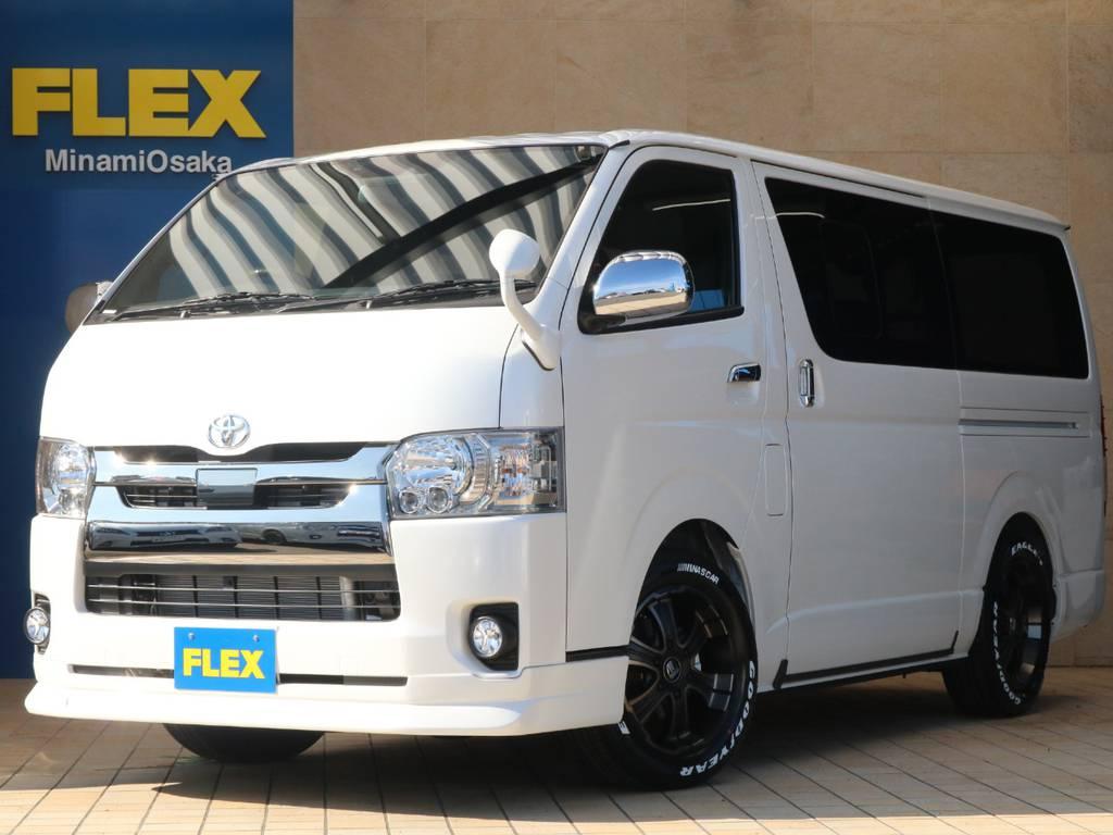 FLEX CUSTOM・新車DARKPRIMEⅡ・クリーンディーゼル4WD♪