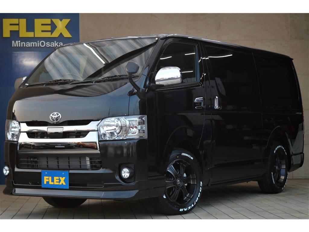 FLEX CUSTOM・新車ダークプライムⅡ・クリーンディーゼル4WD♪