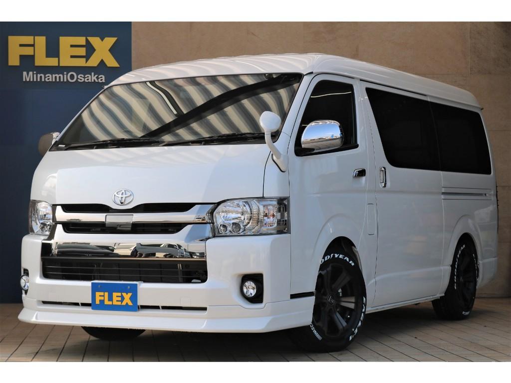 FLEX CUSTOM・新車ワイドDARK PRIMEⅡ・クリーンディーゼル2WD♪