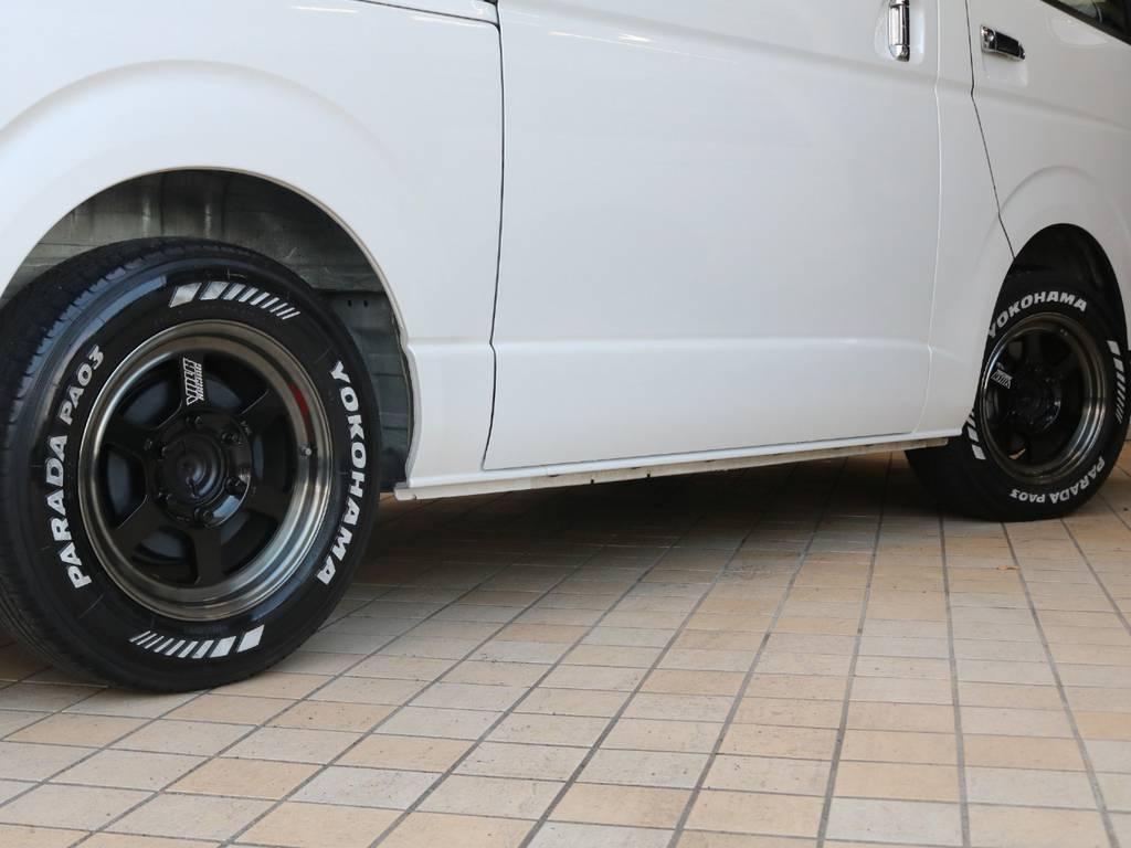 車検対応ホイール&タイヤセット