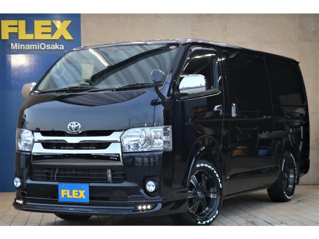 4型ダークプライム ディーゼル4WD・新品FLEXバルベロ ディープス17インチAW♪