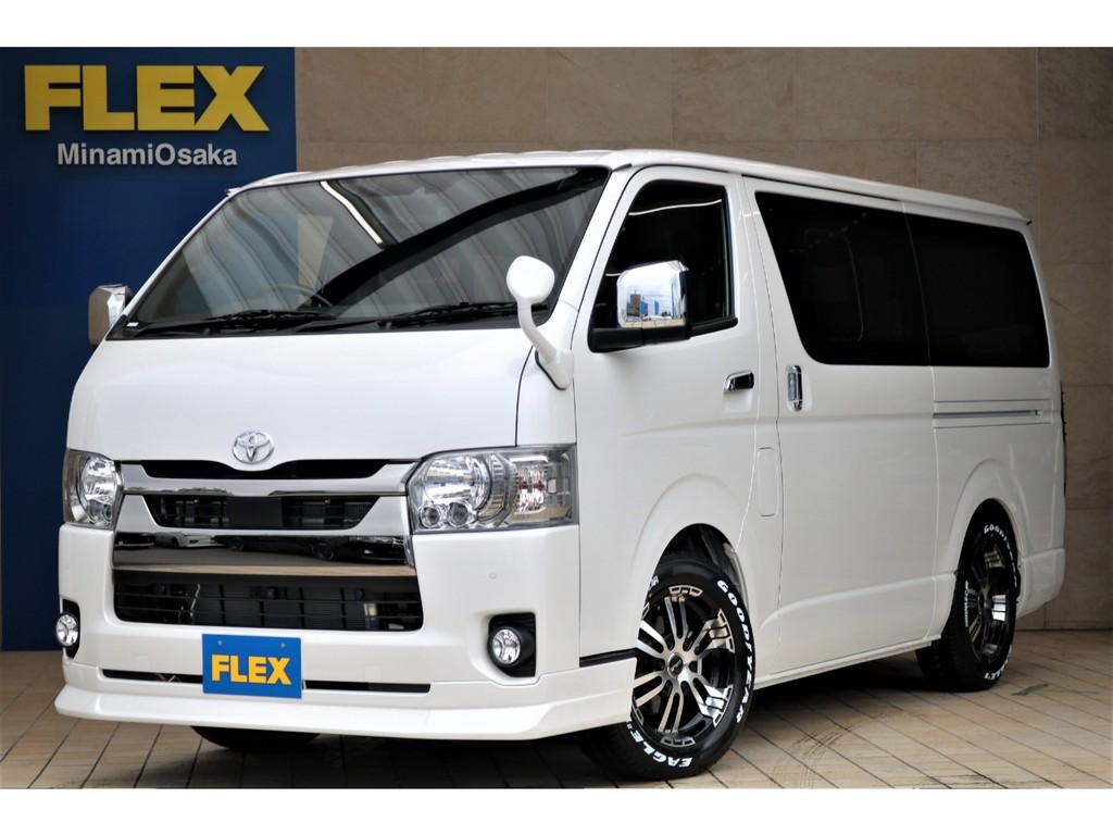 新型ハイエース・DARKPRIMEⅡガソリン2WD・FLEXCUSTOM入庫