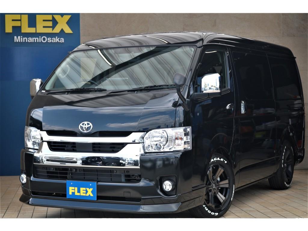 新型ハイエースワゴン・GL・FLEXCUSTOM