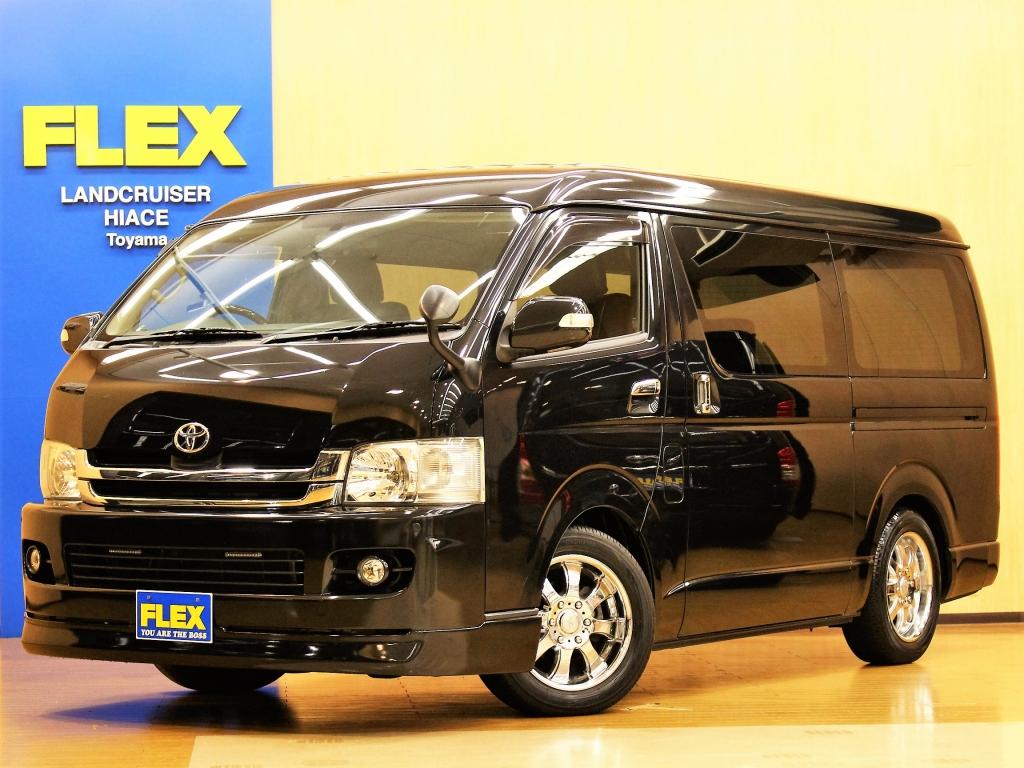 【H20 ハイエースV 4WD S-GL ワイド】久方ぶりの入庫でございますワイドV4WD!広々使えるワイドボディ!