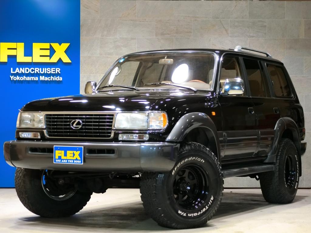 1996yモデル LX450 4500G【3インチUP】【社外16インチAW&35ATタイヤ】【レクサス専用装備多数】【サイバーナビ&ETC】【前後デフロック】【オリジナルマフラー】