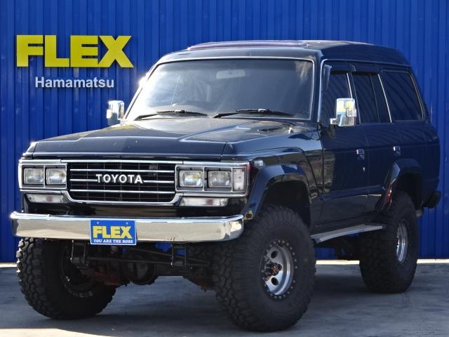 ランクル60VX【最高に面白い車の入庫です】【希少ディーゼルT・5MT】【前後デフロック】【MAXXISタイヤ・35×12.5R15】
