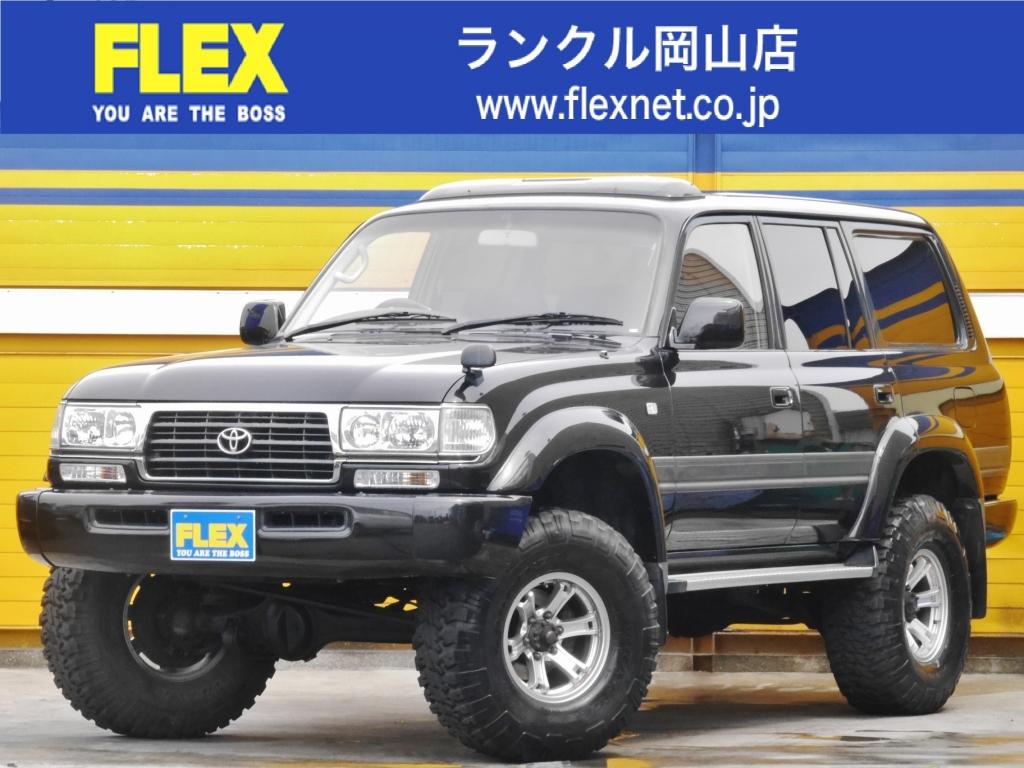 ランクル80!VX-LTD!4200DT!中期モデル!ウッドハンドル!外装綺麗車!お買い得車両の為、お早めに!!