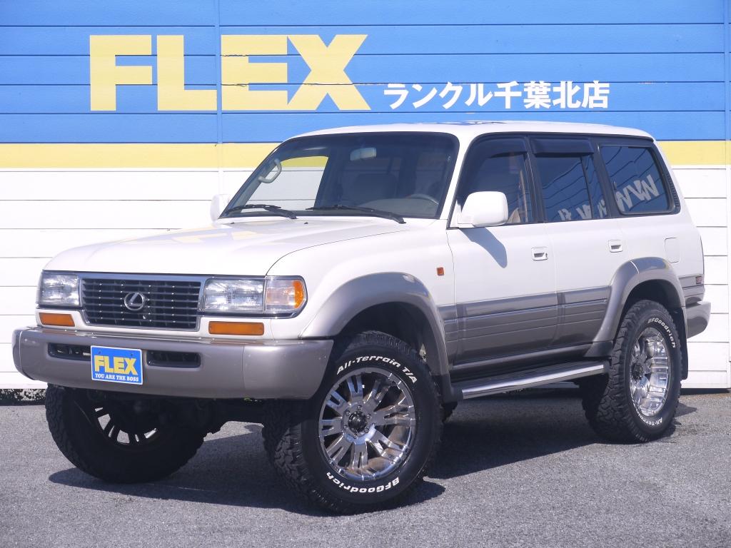 レクサス LX450 4500G【希少車&前後デフロック】【3インチUP&1ナンバー登録】【20インチAW&BFグッドリッチAT】